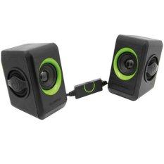 SonicGear 2.0 Speaker System Quatro 2 - Hijau