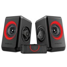 Spek Sonicgear Quatro 2 Speaker Active Merah Sonicgear