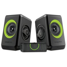 Promo Sonicgear Quatro 2 Usb Speaker Hijau Sonicgear