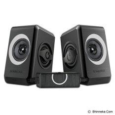Jual Sonicgear Speaker Quatro 2 Hitam Baru