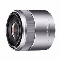 Sony 30mm f/3.5 Macro Lensa Kamera (SEL30M35) - Silver