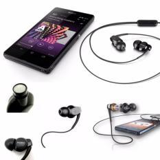 Sony 3.5mm Handsfree Headset Xperia Stereo MH-EX300AP Original - HItam
