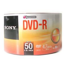 Sony 4.7 GB 16x Recordable Disc DVD-R - 50 Disc Bulk Pack