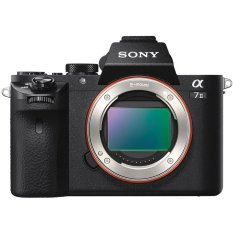 Sony Alpha 7II Kamera Mirrorless - 24.3MP - Hitam