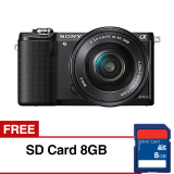 Ulasan Tentang Sony Alpha A5000 Kamera Digital Mirrorless Lensa 16 50Mm 20 1Mp Hitam Gratis Sd Card 8Gb