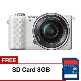 Beli Sony Alpha A5000 Kamera Digital Mirrorless Lensa 16 50Mm 20 1Mp Putih Gratis Sd Card 8Gb Lengkap