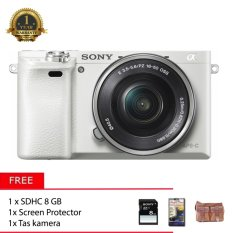 Sony Alpha A5100 Kit 16-50mm + Free Memory 8gb + Tas Kamera + screen protector