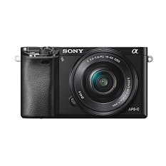 Beli Sony Alpha A6000 Kamera Digital Mirrorless Lensa 16 50Mm 24 3Mp Hitam