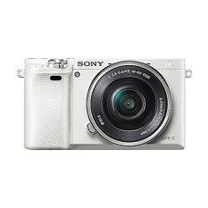 Jual Sony Alpha A6000 Kamera Digital Mirrorless Lensa 16 50Mm 24 3Mp Putih Sony Asli