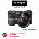 Beli Sony Alpha A6000 Kit 16 50 Camera Mirrorless Black A6000L A 6000L Di Di Yogyakarta