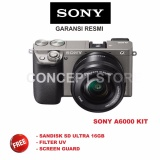Spesifikasi Sony Alpha A6000 Kit 16 50 Camera Mirrorless Grey A6000L A 6000L Lengkap