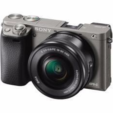 Sony Alpha A6000 Kit 16-50mm Kamera mirrorless - Graphite Gray