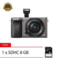 Diskon Sony Alpha A6000L 16 50Mm Gray Free Sdhc 8Gb Indonesia