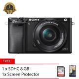 Spesifikasi Sony Alpha A6000L 16 50Mm Memory 8Gb Screen Protector Tas Kamera Terbaik