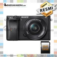 Sony Alpha A6300 with 16-50mm F3.5-5.6 OSS - Kamera Mirrorless