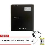 Jual Cepat Sony Baterai Ba900 Original Non Packing For Sony Xperiaj Xperia Tx Xperia Gx Hitam Bonus Kabel Otg Micro Usb