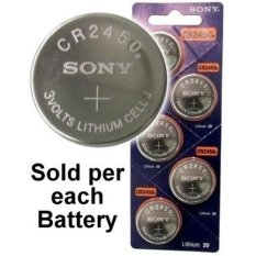 Sony Batterylithiumcell 3v Cr2450 By Cmart Computer.