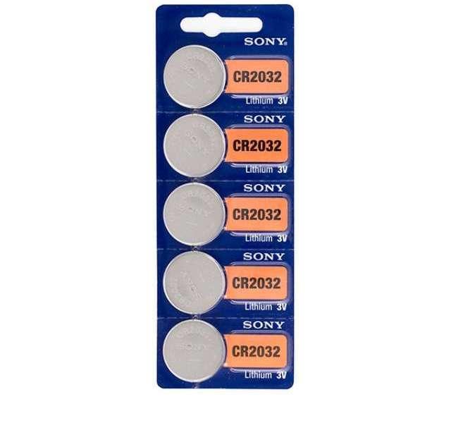 Sony Cr2032 Battery Baterai 5 Pcs Di Dki Jakarta