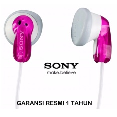 Jual Cepat Sony Crystal Clear Sound Stereo Headphones Mdr E9Lp Pink