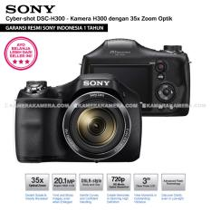 SONY Cyber-shot DSC-H300 Digital Camera H300 (Resmi Sony) 20.1MP 35x Zoom