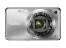 Sony Cyber-shot DSC-W290 12.1 MP Digital Kamera dengan 5x Optik Zoom dan Super Steady Shot Citra Stabilization (perak) -Internasional