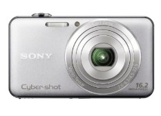 Sony Cyber-shot DSC-WX50 16.2 MP Digital Kamera dengan 5x Optik Zoom dan 2.7-Inci LCD (Perak) (Model 2012)-Internasional