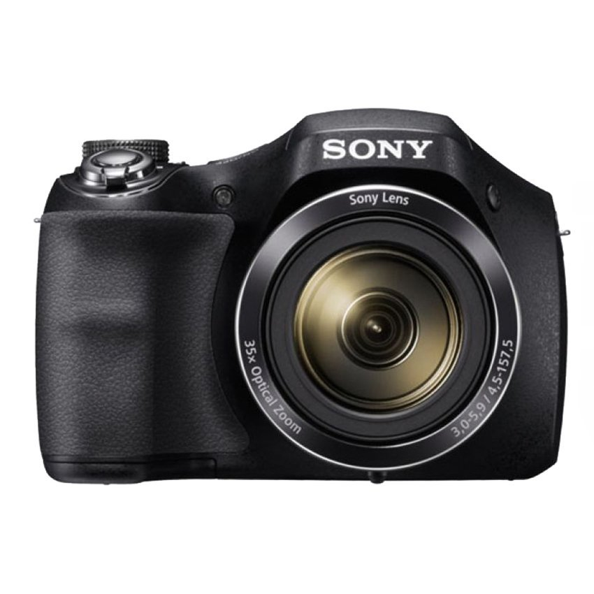 Sony Dsc H300 20 1 Mp 35X Optical Zoom Hitam Di Indonesia