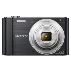 Sony DSC- W810 20.1 Mega Pixel W Series 6x Optical Zoom Cyber-shot - Hitam