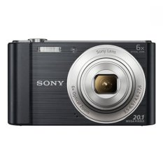 Sony DSC-W810 - 20.1 MP - 6x Optical Zoom - Hitam