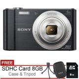 Toko Sony Dsc W810 20 1Mp Hitam Gratis Sdhc 8Gb Case Tripod Lengkap Di Di Yogyakarta