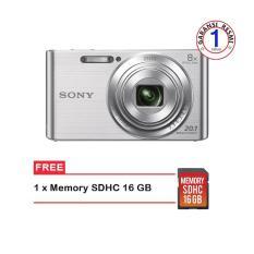 Sony Dsc-W830 Free Memory 16 GB (Hitam)