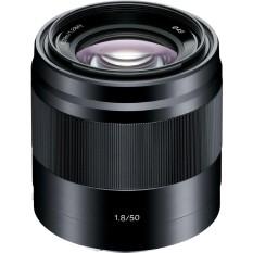 Lensa Sony E 50mm F1.8 OSS / Lensa Fix 50mm / Lensa Potrait / Lensa SEL50F18 - Hitam