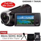 Spek Sony Handycam Hdr Cx405 Full Hd Gratis Microsd 8Gb Tas Tripod