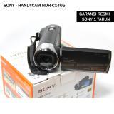 Beli Sony Handycam Hdr Cx405 Sensor Cmos Exmor R Garansi Resmi Sony Sony Asli