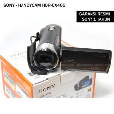 SONY Handycam HDR-CX405 Sensor CMOS Exmor R (Garansi Resmi Sony)