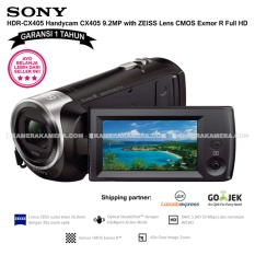 Spesifikasi Sony Hdr Cx405 Handycam Cx405 9 2Mp With Zeiss Lens Cmos Exmor R Full Hd Garansi 1Th Murah Berkualitas