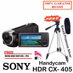 Sony HDR CX405 Handycam - Full HD Movie + sdhc sony 8gb + tripod excell