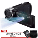 Harga Sony Hdr Pj240E Projector Handycam Full Hd Gratis Microsd 8Gb Dan Case Di Indonesia