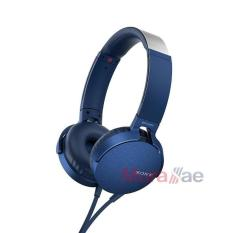 Sony Headphone MDR-XB550AP - Blue