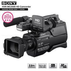 Sony HXR-MC2500 AVCHD Camcorder Exmor R CMOS Sensor HD (Garansi Resmi Sony)
