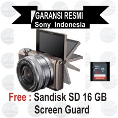 Spesifikasi Sony Ilce Alpha A5100L E Pz 16 50Mm F 3 5 5 6 Oss Brown Mirrorless Dan Harga