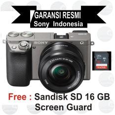Jual Sony Ilce Alpha A6000L E Pz 16 50Mm F 3 5 5 6 Oss Grey Murah Di Yogyakarta