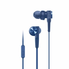 Tips Beli Sony In Ear Extra Bass Headphone Mdr Xb55Ap Biru Yang Bagus