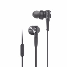 Sony In-Ear Extra Bass Headphone MDR-XB55AP - Hitam