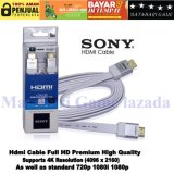 Harga Sony Kabel Hdmi High Quality 3D 4K Resolution Sony Original