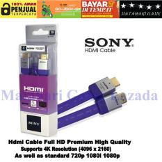 Review Toko Sony Kabel Hdmi High Quality 3D 4K Resolution Violet