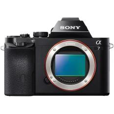 Sony Alpha a7 / Kamera ILCE-7 Body Only warna Hitam garansi resmi 1 tahun Sony Indonesia