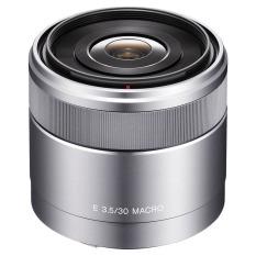Harga Sony Lens E 30Mm F 3 5 Macro Silver Online Dki Jakarta