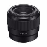 Beli Sony Lens Sel Fe 50Mm F 1 8 Full Frame Online Murah