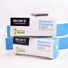 Sony Magnetic Charging Cable For Xperia Z1 Z2 Z3 Z Ultra Hitam Sony Diskon